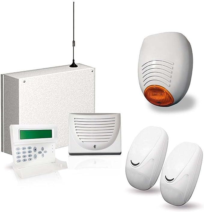 AMC - KIT 186 Central de alarma GSM C24 PLUS + K-voz del ...