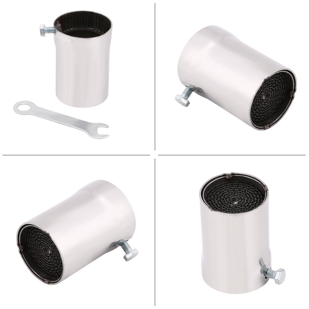 51mm Universal Motorcycle Exhaust Pipe Muffler Silencer DB Killer Noise Eliminator, Noise Sound Eliminator for Most of Street/Sport Motorcycles and Scooters (#2) Yosooo