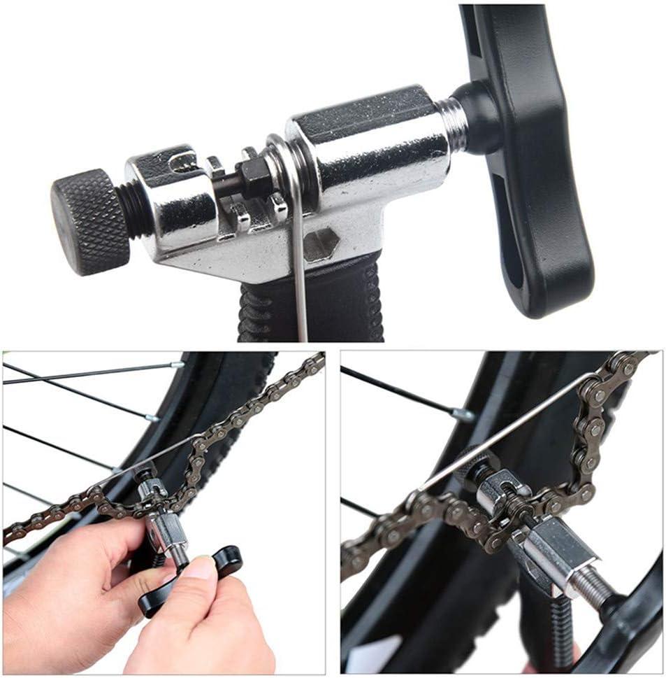 Multifunktional Fahrrad Reparatur Set Fahrrad Kassette Removal Tool 3 S/ätze Rad Zentrierer Nippelspanner Speichenspanner Fahrradrad Speichenschl/üssel