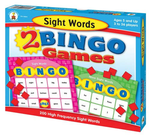 (Sight Words Bingo)