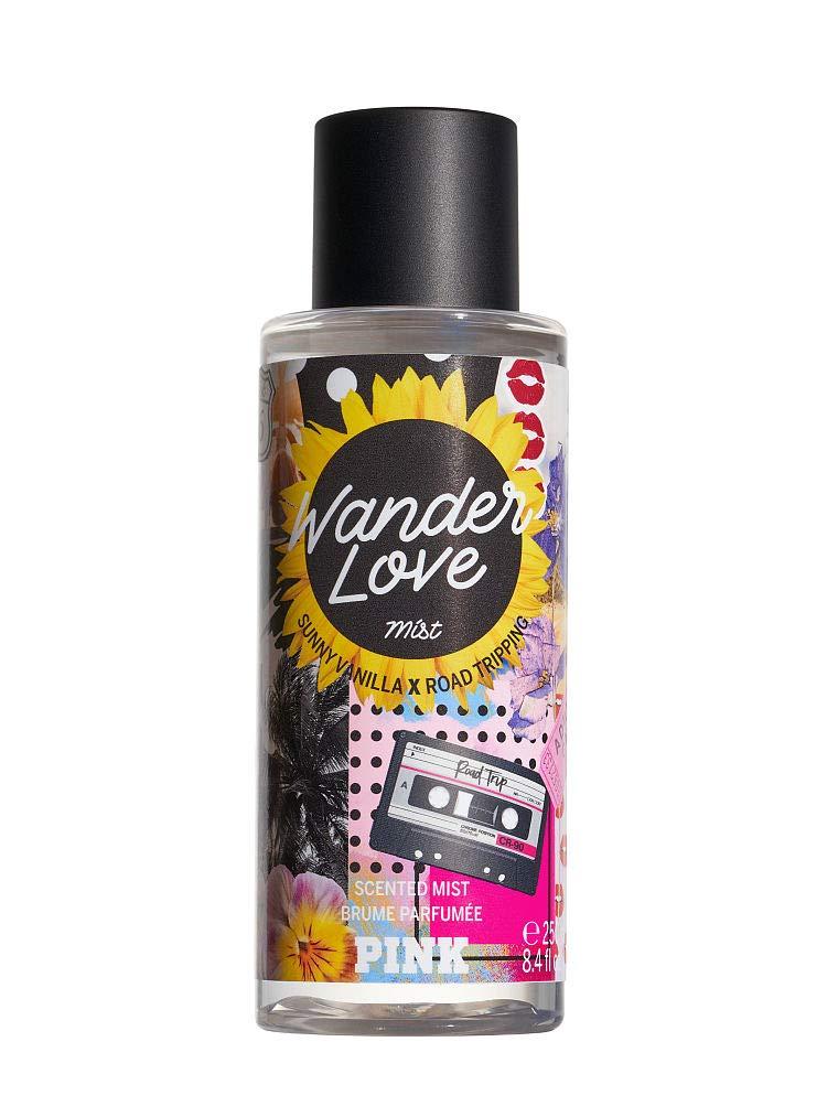 Victorias Secret Pink Wander Love New Summer Forever Scented Mists Fragrance Summer 8.4 Ounce