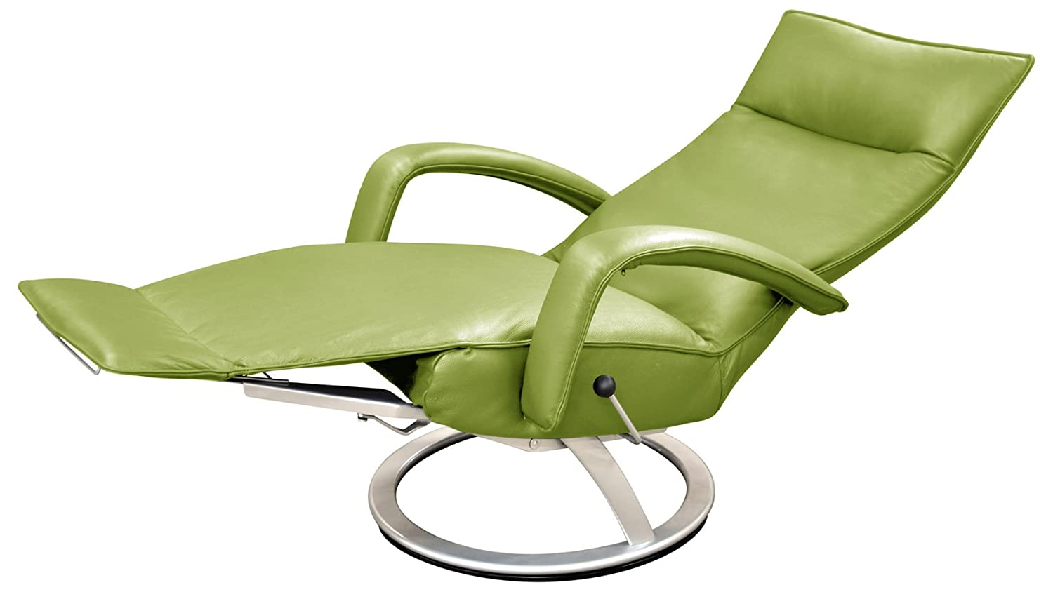 Bon Amazon.com: Gaga Recliner Chair Mint Green Leather By Lafer Recliner Chairs:  Kitchen U0026 Dining