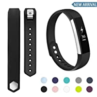 POY Fitbit Alta Bands and Fitbit Alta HR Bands, Small Large Replacement Wristband Sport Bands for Fitbit Alta HR and Fitbit Alta