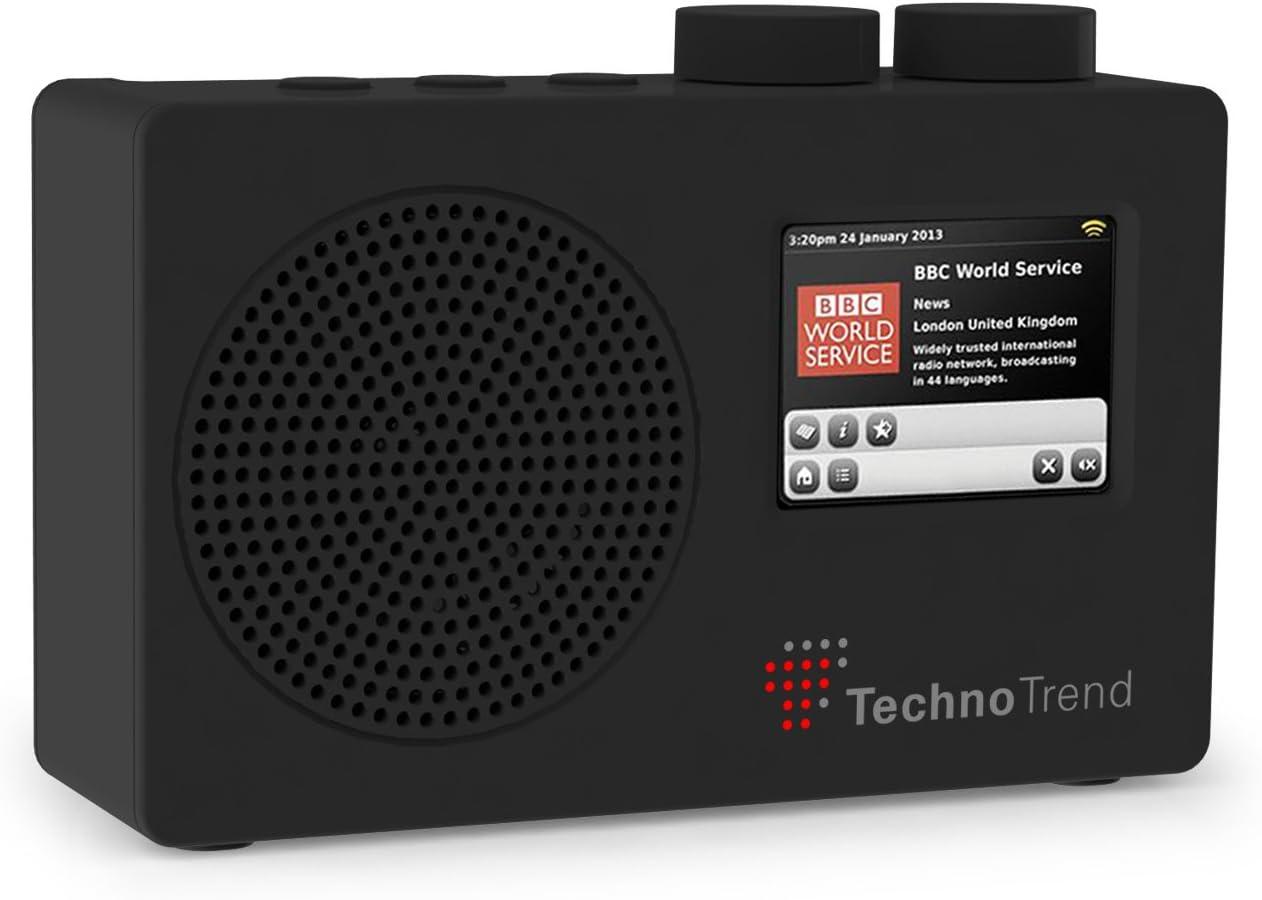 TechnoTrend Radio port/átil Dab//Dab+//FM con Pantalla a Color