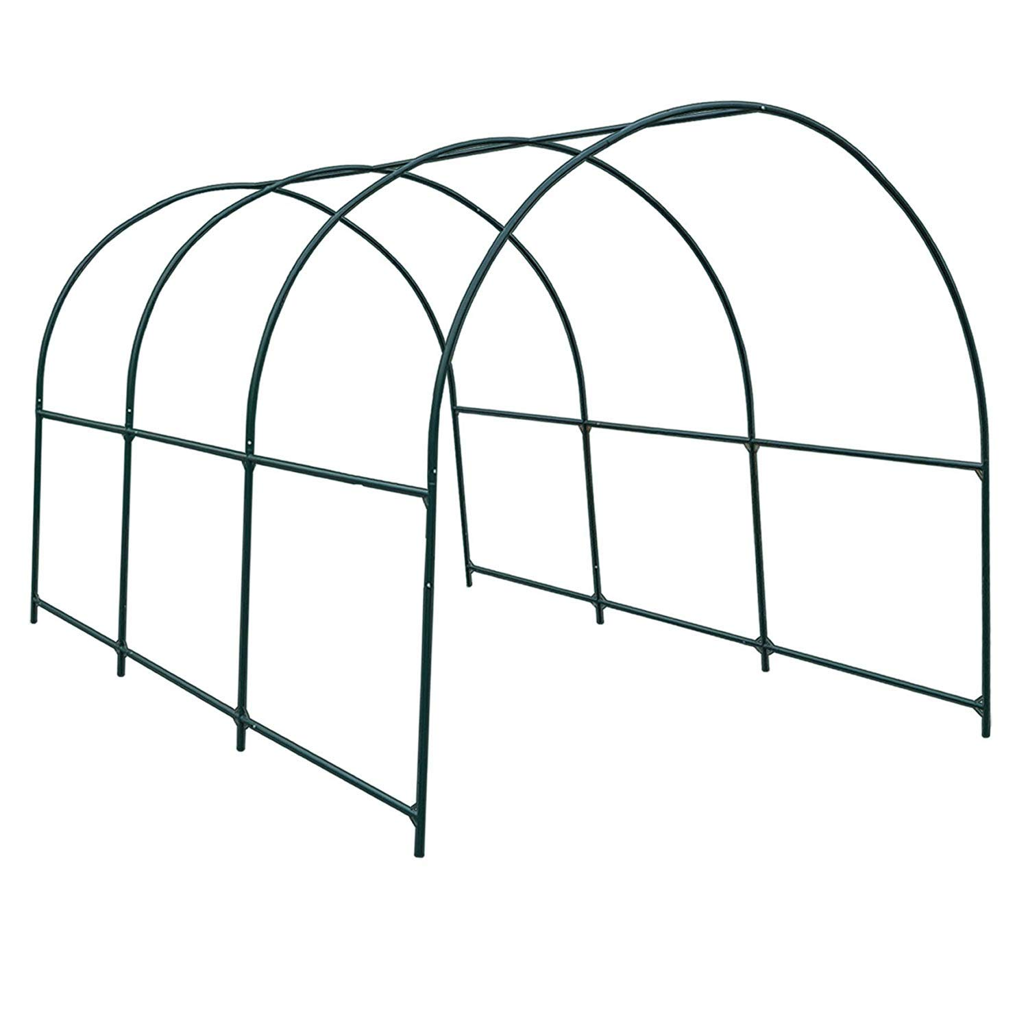 BenefitUSA Green House Replacement Spare Parts for 20'X10'X7'H Walk in Outdoor Plant Gardening Greenhouse (Frame) by BenefitUSA