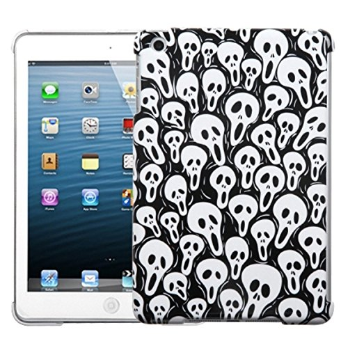 - Asmyna Smart Slim Back Protector Cover for iPad Mini, Screaming Ghosts (IPADMINIHPCBKIM949WP)