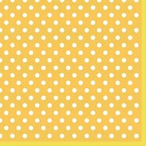 Luxury Gold Polka-Dot Paper Napkins