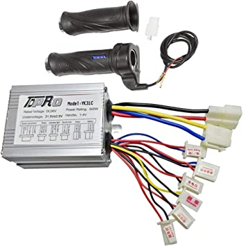 ATV Bicycle Brush Speed Controller Box 36V 800W For Electric Scooter