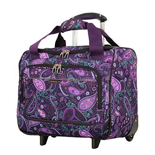 Ricardo Beverly Hills Mar Vista 16-Inch 2 Wheeled Tote, Purple Paisley, One - Wheeled 16 Tote