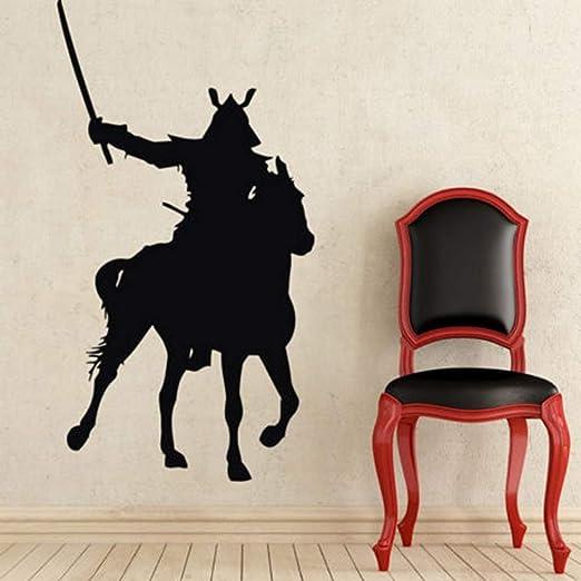 pegatina de pared frases Kendo Pegatina Caballo Samurai ...