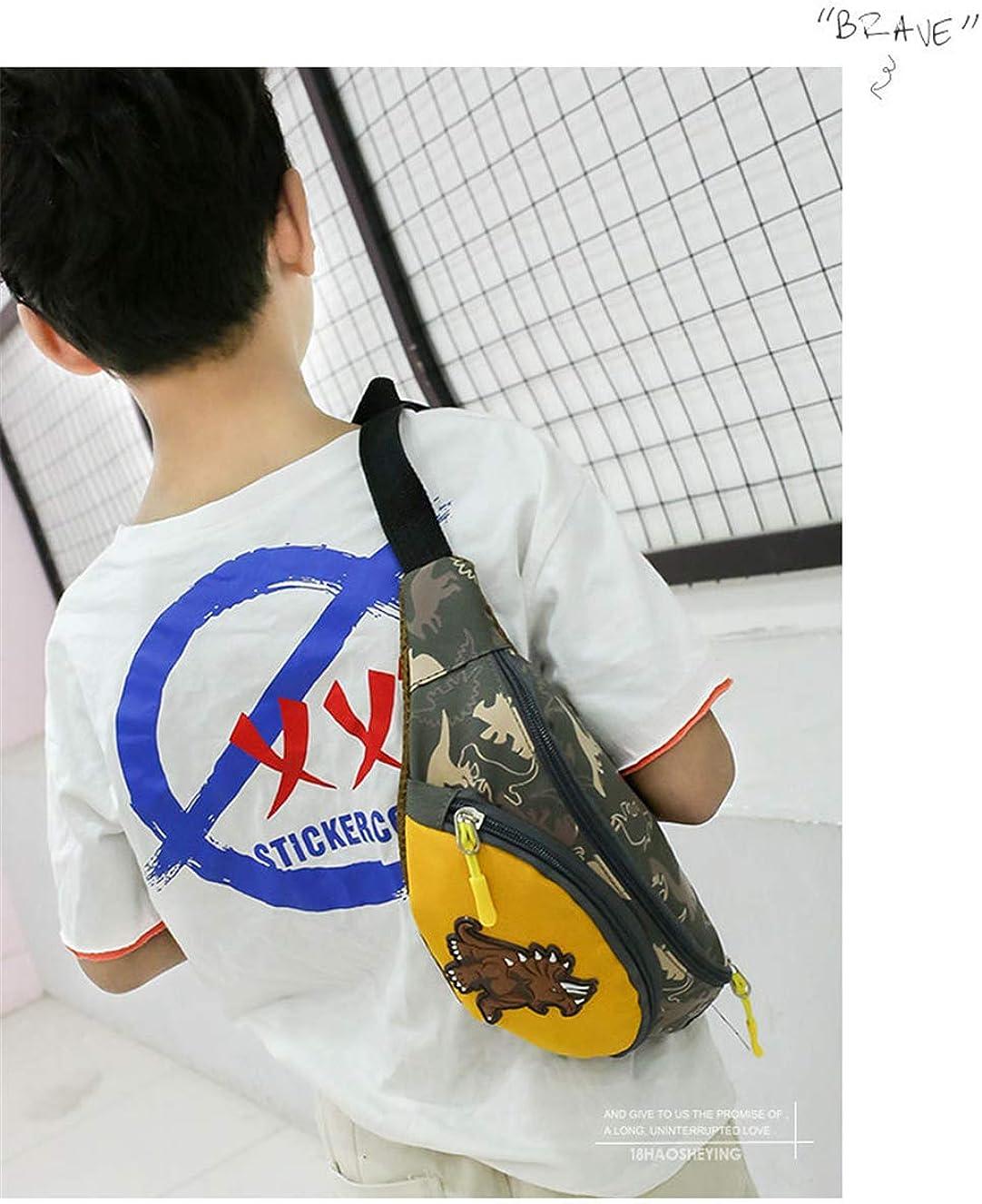 Bolsa un Hombro Mochila de Vida de Viaje Deportes Ni/ño Ni/ñoa Unisex Ri/ñonera con Dinosaurio Impresi/ón Mochila de Ocio