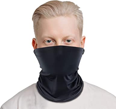 Lot 5PCS Scarf Bandana Neck Gaiter Tube Face Mask Headband Cycling Outdoor Cap