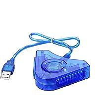 SIENOC Doppio PS1 PS2 PSX controller di gioco Console joystick per dell'adattatore del convertitore USB del PC