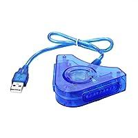 SIENOC Gamepad Adapter/Konverter | Dual PS1 PS2 PSX Controller zu USB Controller am PC / MAC