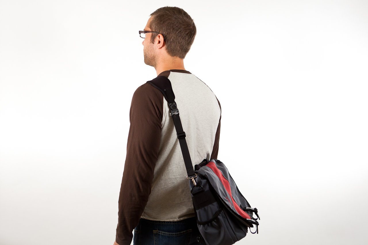 Comfortable Replacement Messenger Cushioned Shoulder Image 3