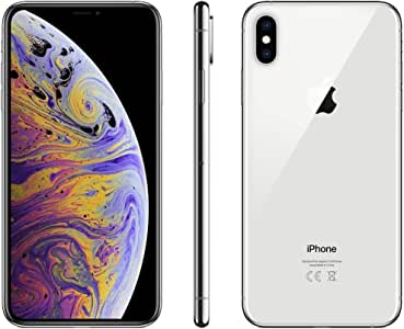 Apple iPhone XS Max Dual SIM with FaceTime 256GB 4G LTE - Silver