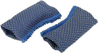 Sharplace Lot de 2pcs Polisseur en Coton pour Queue de Billard Accessoire de Nettoyage