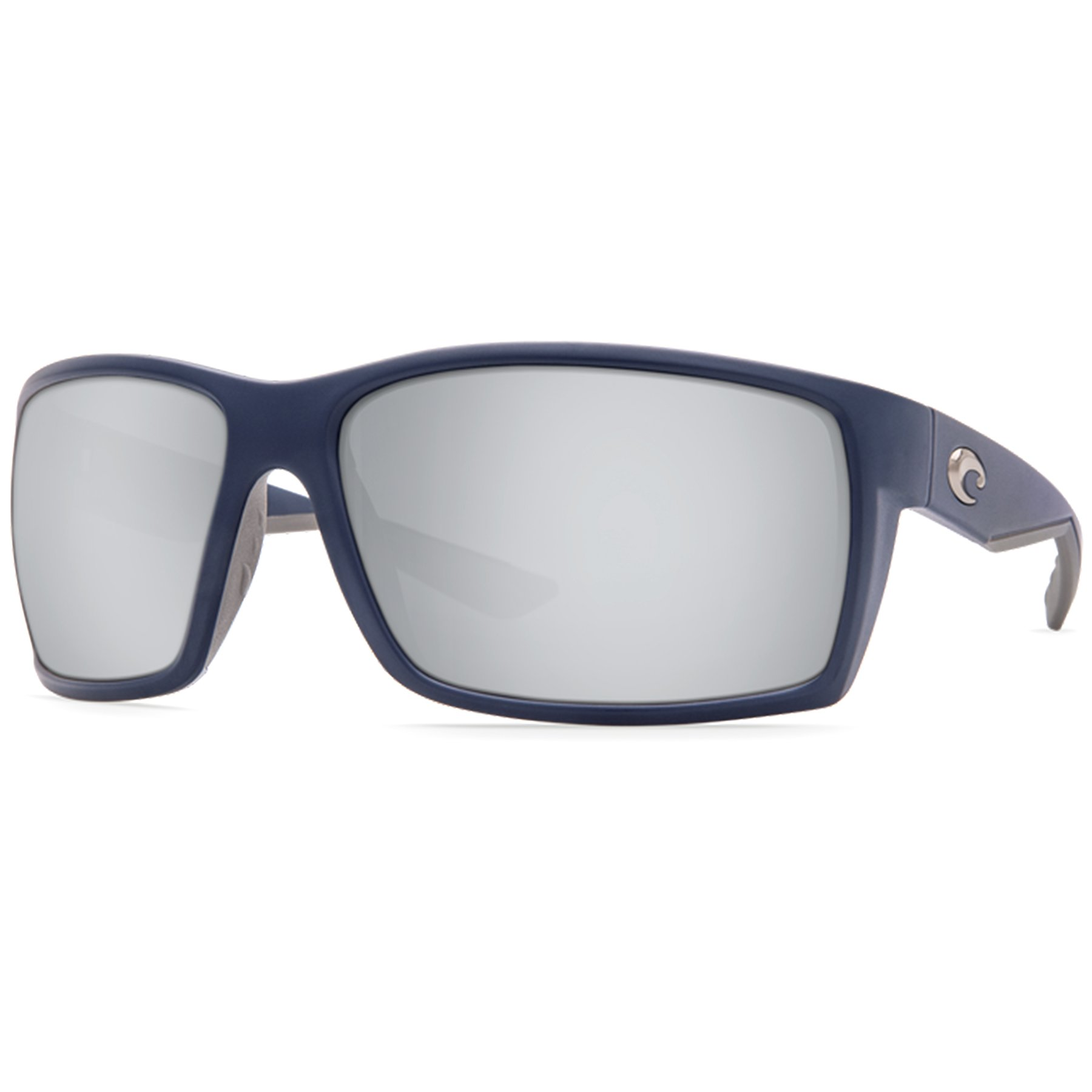 Costa Del Mar Reefton Sunglass, Matte Blue/Copper Silver Mirror 580Plastic
