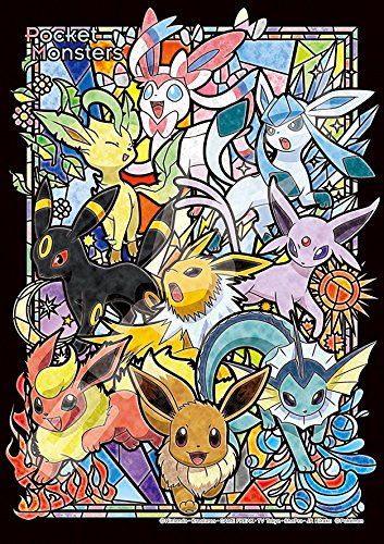 208 Piece Art Crystal Jigsaw Puzzle Pocket Monster Evey Evolutions (18.2 x 25.7 cm)