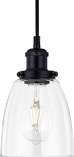 PASSICA DECOR Glass Modern Ceiling Light Vintage Living Room Kitchen Pendant Light