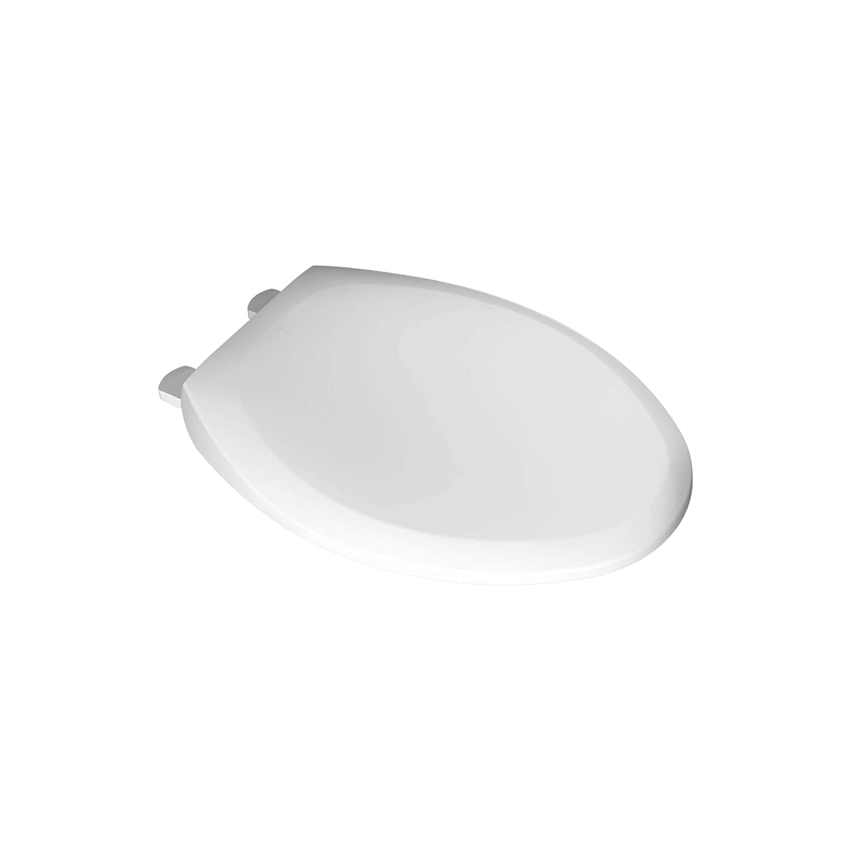 White Elongated American Standard 5321A65CT.020 Champion Slow-Close Elongated Toilet Seat, White