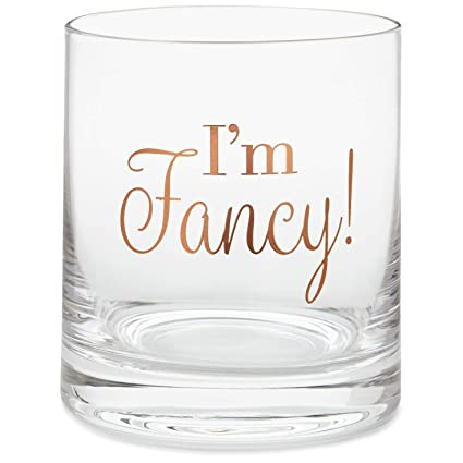e8d146f5ac3 Amazon.com | I'm Fancy Lowball Glass, 14 oz. Kitchen Milestones: Old ...