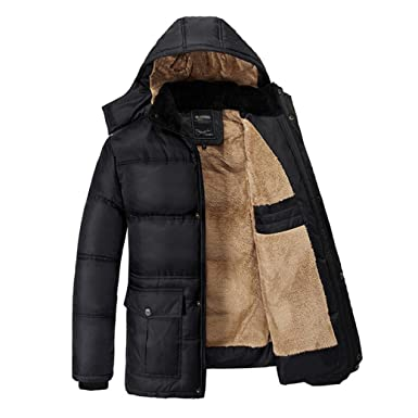 ba8d47f7e94 Yaer Mens Winter Jacket