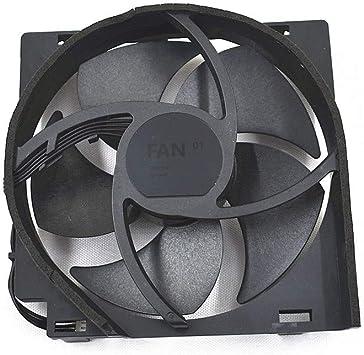 Ventilador Interno de refrigeración para Xbox One S 5 aspas 4 Pines: Amazon.es: Electrónica
