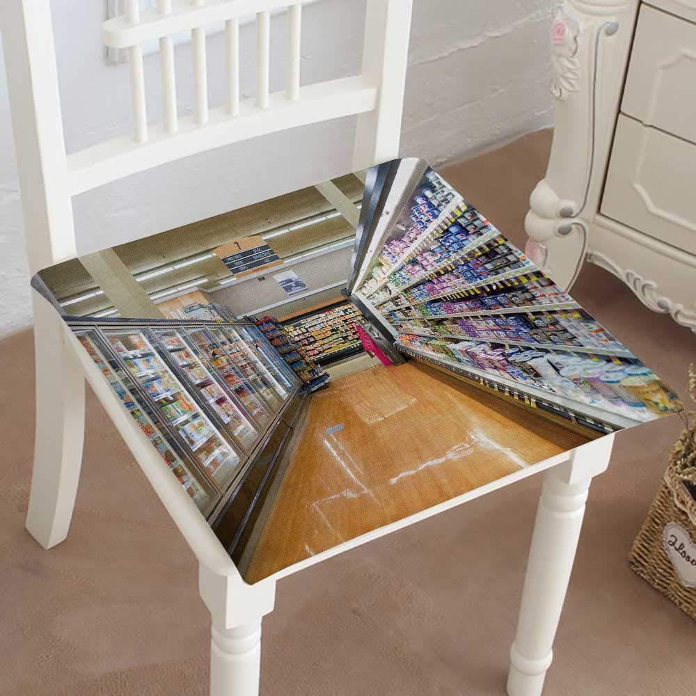 Mikihome クラシック装飾椅子パッドシート デポジット写真 ストックジュエル osco storestore() クッション メモリ充填 14インチx14インチx2個 18