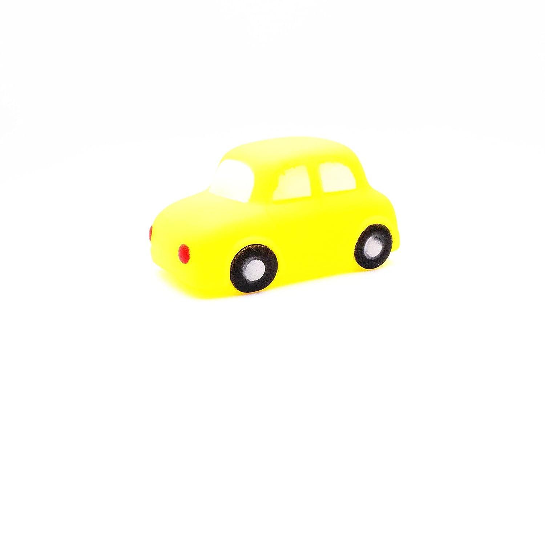 Mings Stylish Cute bath toys Set of 5 Pcs Children's Lovely Creative Yellow Car Bathtub Bathroom Bath Water Play Toy