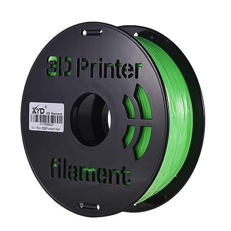 Amazon.com: Entweg PLA Filamento para impresora 3D, 0.069 in ...