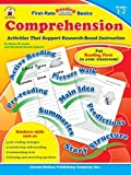 img - for Comprehension, Grades 1 - 2: Activities That Support Research-Based Instruction (First-Rate Reading Basics) by Lewis, Starin W., Aguerre, Elizabeth Suarez (2005) Paperback book / textbook / text book