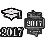 Graduation Cheers - DIY Shaped Graduation Party Cut-Outs - 24 Count