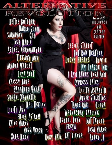Alternative Revolution Magazine: Issue # 21 Bettie Butcher Cover