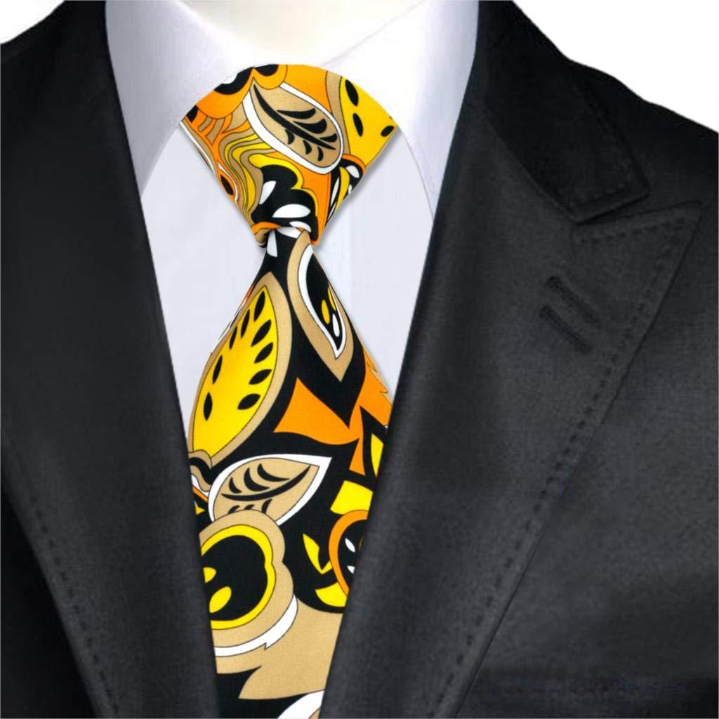 FDHFC Diseñadores De Moda Corbatas De Seda para Hombre Corbatas De ...