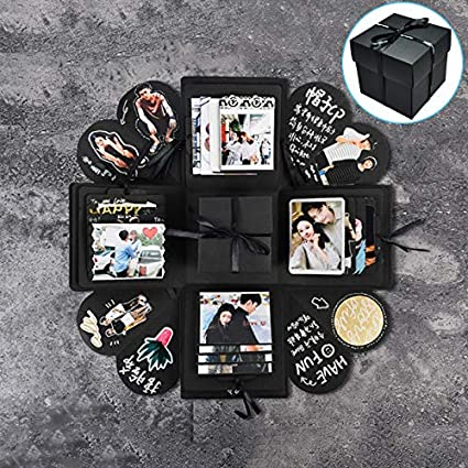 Surprise Love Explosion Box DIY Photo Album Memory Scrapbook Anniversary Gift