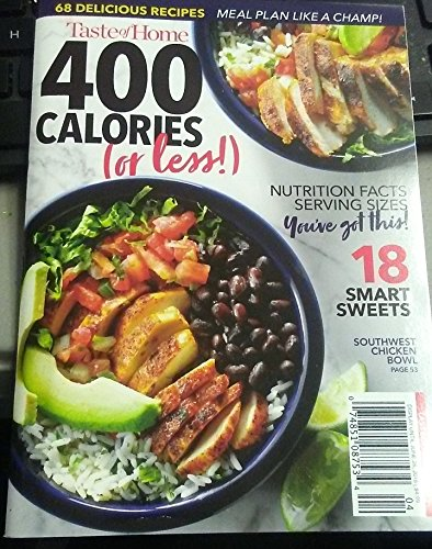 (Taste of Home Magazine 2018 400 Calories or less (Small))