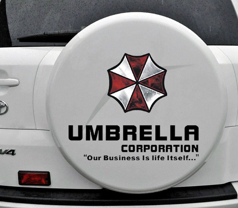 Amazon.com: PHACA Heroine Alice Resident Evil Umbrella Corporation Car  Sticker: Pet Supplies