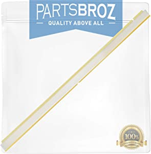 809006501 Door Gasket by PartsBroz - Compatible with Dishwashers - Replaces 809006501, AP5809675, 154576501, 154759101, 154297601, 154297602, 154297603, 154588201, 3290453, PS9495545