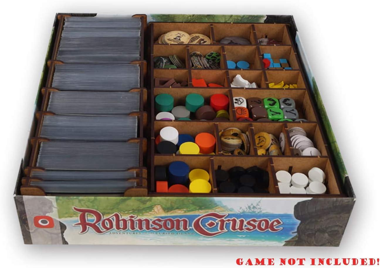 docsmagic.de Organizer Insert for Robinson Crusoe 2nd Edition Box ...