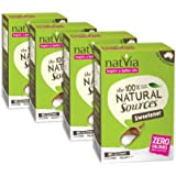 Natvia 100% Natural Sources Sweetener 80 Sticks (2g each) (Pack of 4)