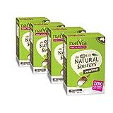 Natvia 100% Natural Sources Sweetener 80 Sticks (2g each) (Pack of 4)