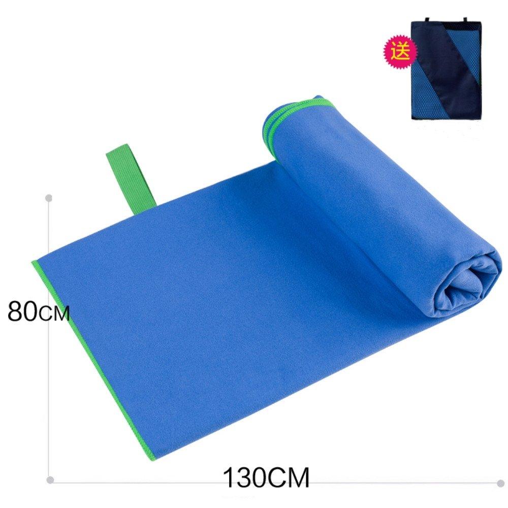XJIH Fibra Superfina Toalla de Playa Toalla de Secado Rápido Deportes Toalla Agua de Secado Rápido - Niños/130x80cm Blue: Amazon.es: Hogar