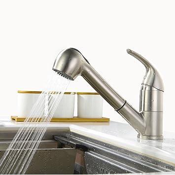 Homelody küchenarmatur mit ausziehbarem brause Wasserhahn Küche Armatur  Spülbeckenarmatur Spültisch Mischbatterie Spüle Einhebelmischer