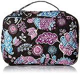 Vera Bradley Luggage Women's Large Blush & Brush Makeup Case Alpine Floral Cosmetic Bag