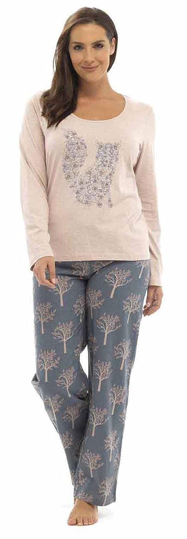 Mujer Reno Zorro top franela Pantalones Pijama - Zorro, 8-10 UK: Amazon.es: Ropa y accesorios