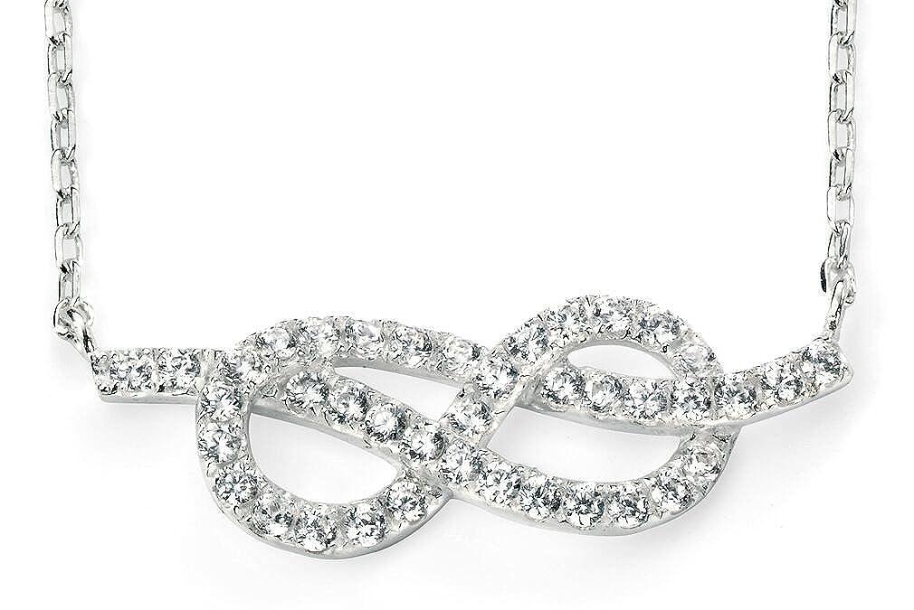 51 My-jewellery 925 Silver infinity zirconium necklace 20