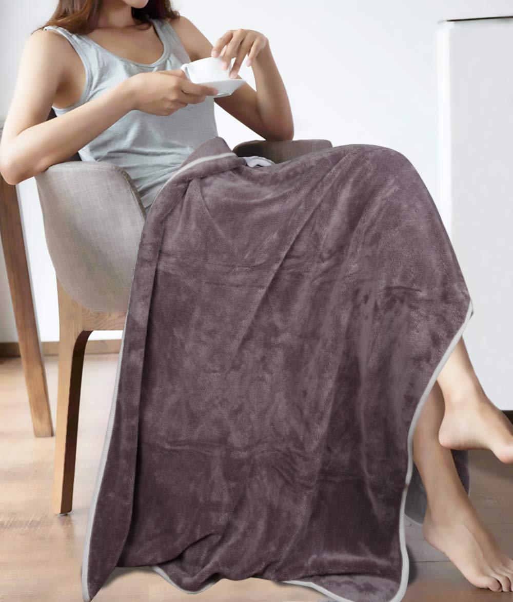 Pool KinHwa Microfiber Bath Towels Large Bathroom Towel Super Absorbent Shower Towel Extra Soft Towels for Bathroom Travel Fitness Purple 2 Pack 30Inch x 60Inch Yoga Spa Sports