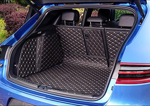 Worth-Mats 3D Full Coverage Waterproof Car Trunk Mat For Porsche Macan-Black