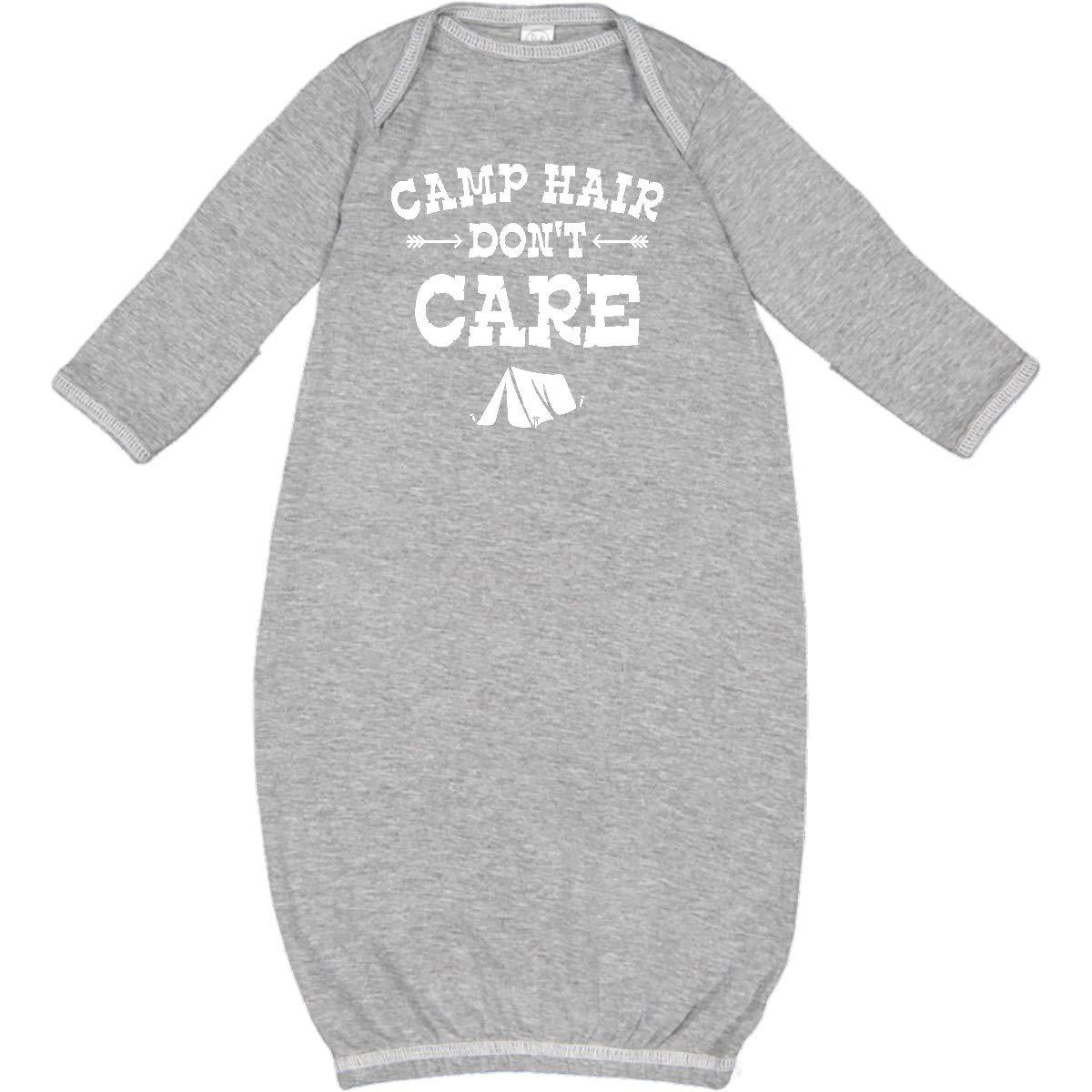 inktastic Camp Hair Tent Newborn Layette